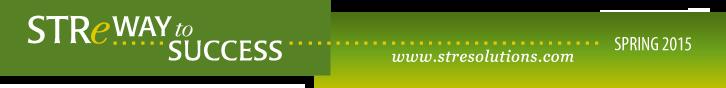 STRe Solutions Spring 2015 Newsletter Header