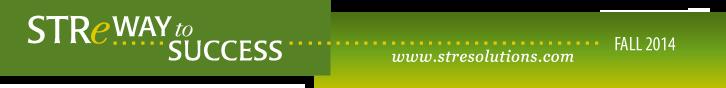 STRe Solutions Fall 2014 Newsletter Header